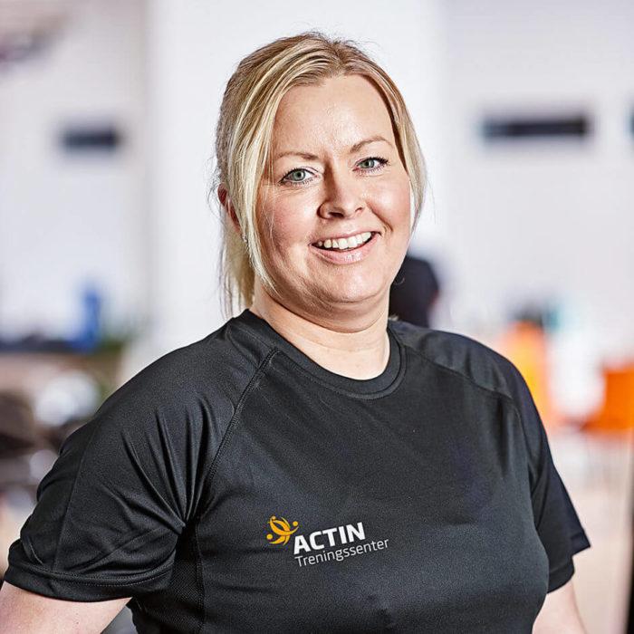 Sandra Murberg ansatt hos Actin Treningssenter, profilbilde